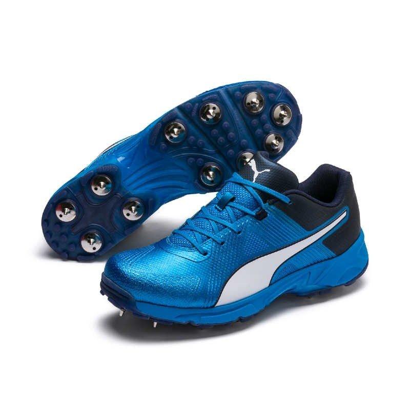 2019 Puma 19.1 Spike Cricket Shoes Blue
