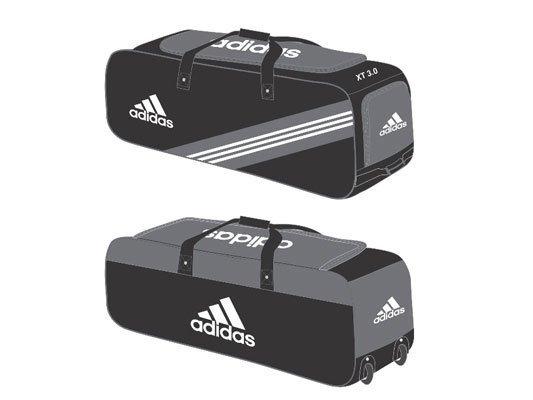 2018 Adidas XT 4.0 Wheelie Cricket Bag