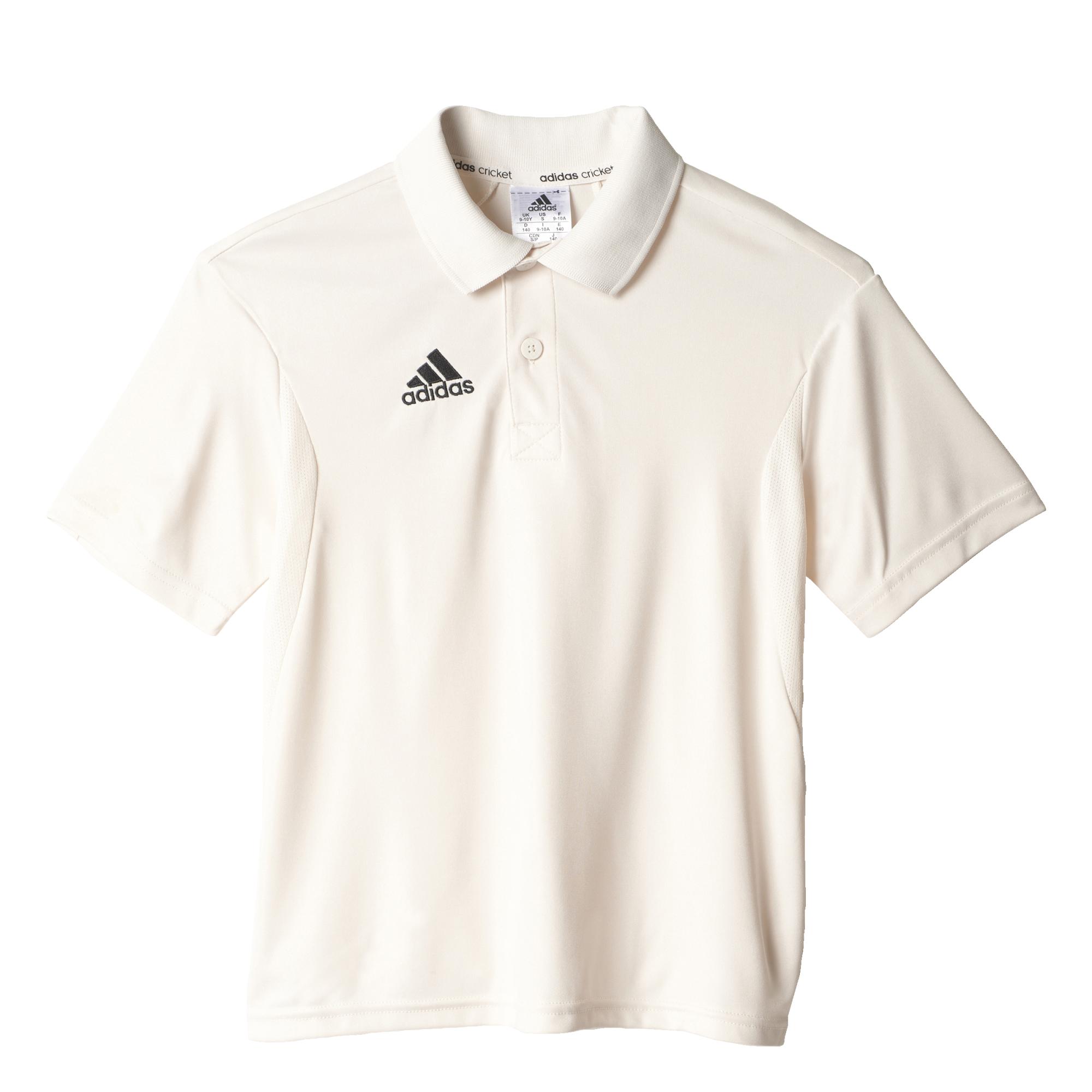 Adidas Howzat Short Sleeve Junior Playing Shirt
