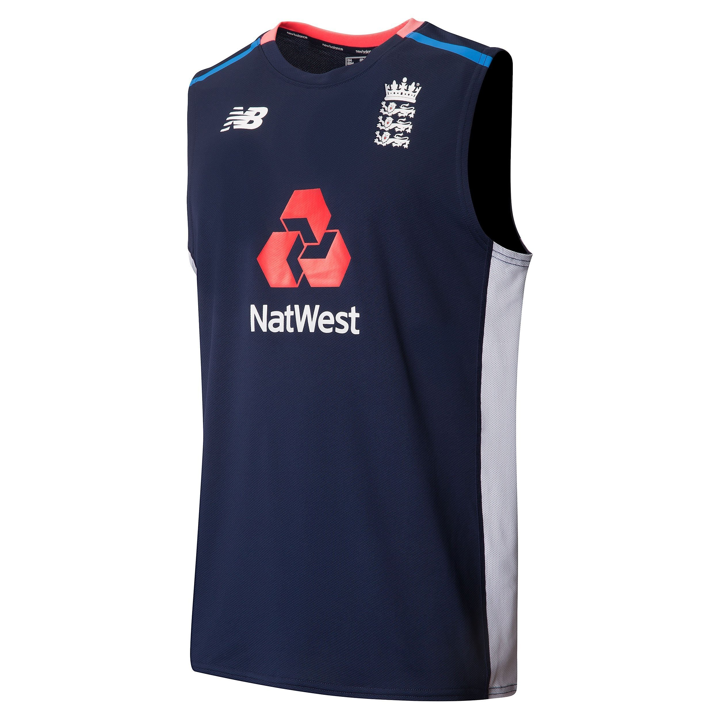 2017 New Balance England Replica Sleeveless Training Shirt