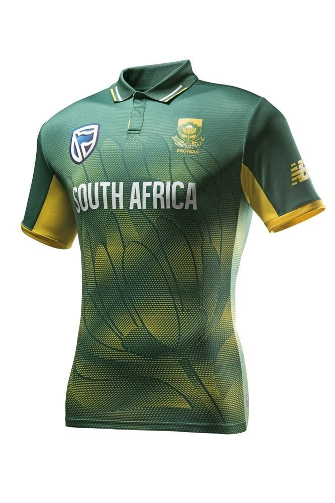2017 New Balance South Africa Proteas ODI Polo