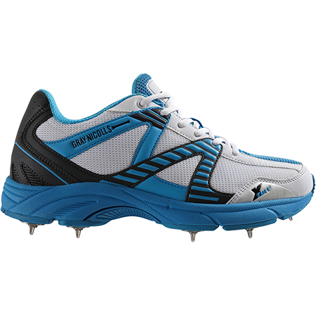 2017 Gray Nicolls Velocity Blue Spike Cricket Shoes