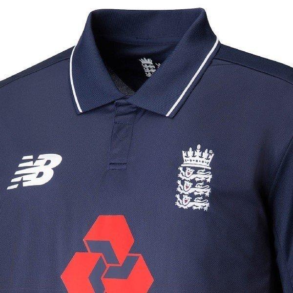 2017 New Balance England Replica Junior ODI Cricket Shirt