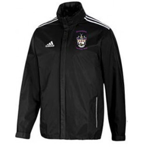 Ormskirk Hockey Club Adidas Black Rain Jacket