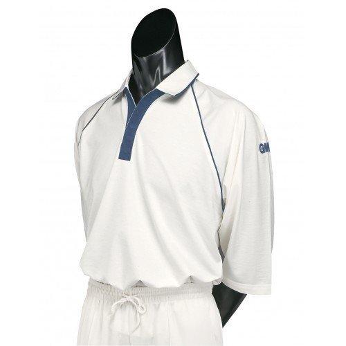 2015 Gunn and Moore Premier Club Short Sleeve Cricket Shirt