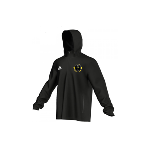 The Soccer Akidemy Adidas Black Rain Jacket (Adult Sizes)