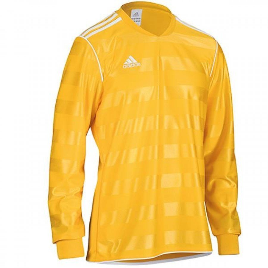 Adidas Yellow Training Jersey Longsleeve