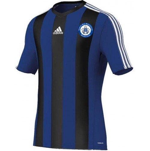 Trinity Mid-Whitgiftian Hockey Club Adidas Estro Blue/Black Short Sleeve Playing Shirt