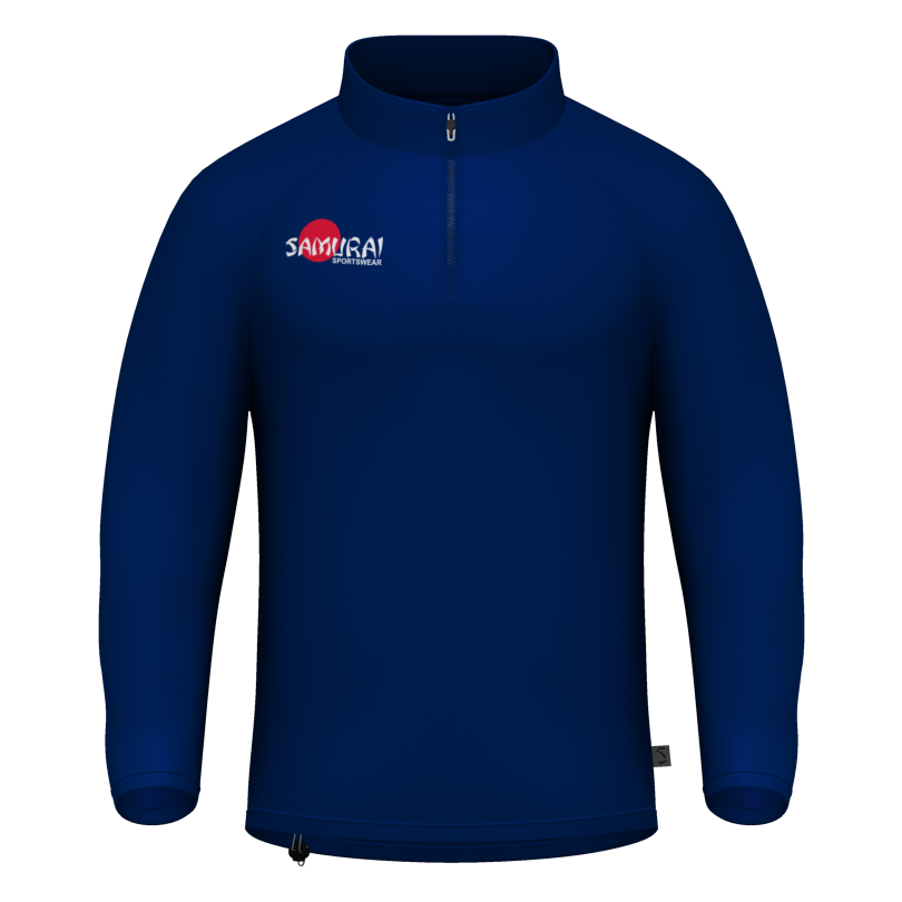 Samurai Navy 1/4 Zip Training Top