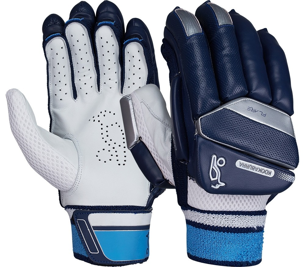 2021 Kookaburra T/20 Flare - Navy Batting Gloves