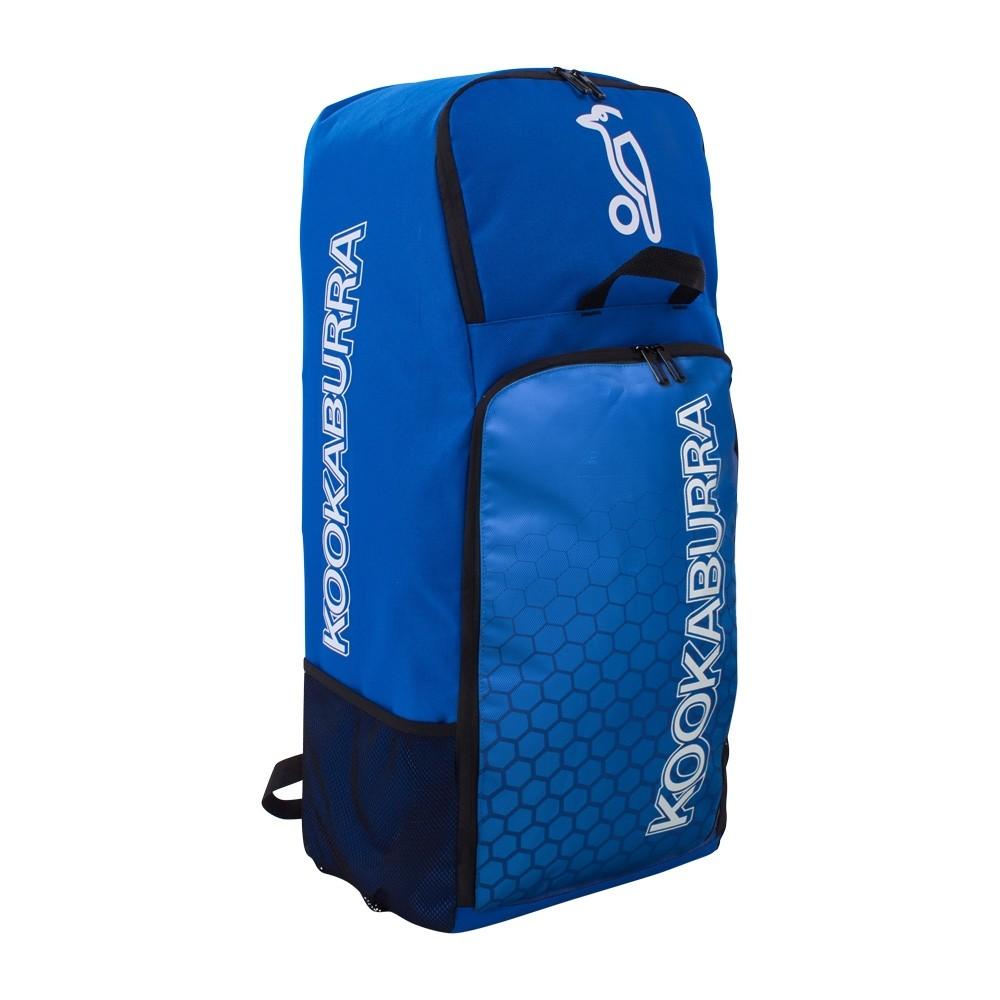 2021 Kookaburra d5 Duffle Cricket Bag - Navy/Cyan