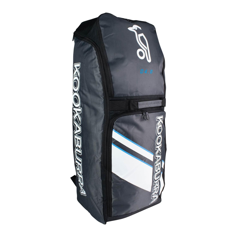 2021 Kookaburra d4 Duffle Cricket Bag - Black/White