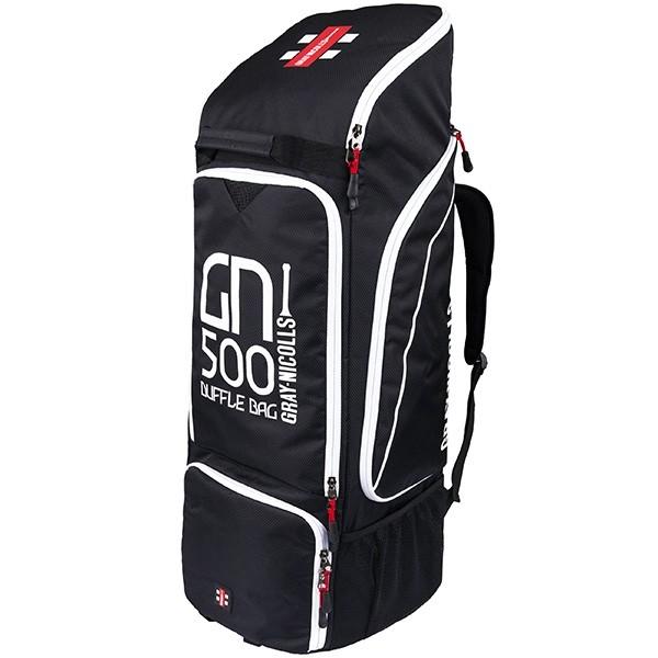 2021 Gray Nicolls GN 500 Duffle Cricket Bag - Black