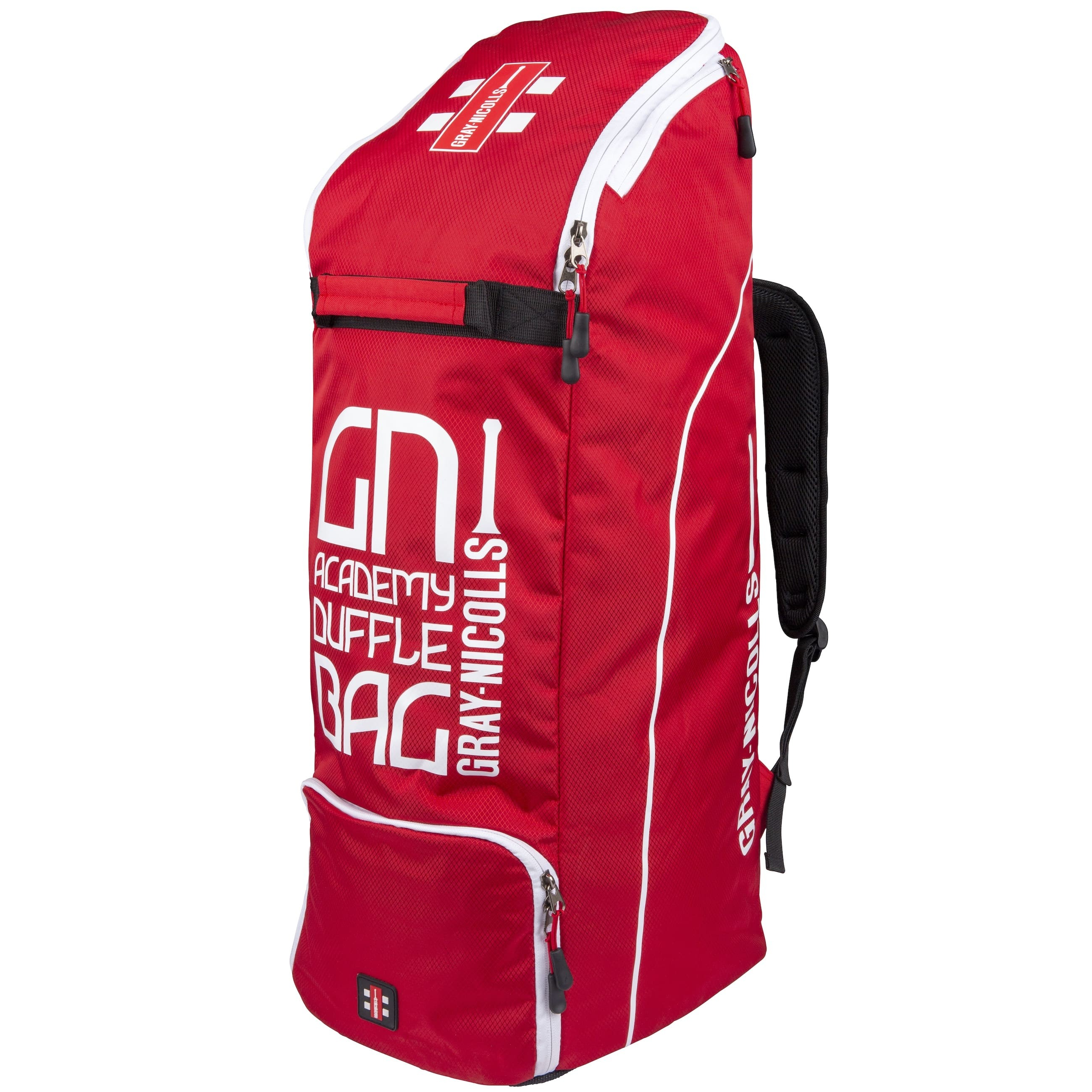 2021 Gray Nicolls Academy Duffle Cricket Bag - Red