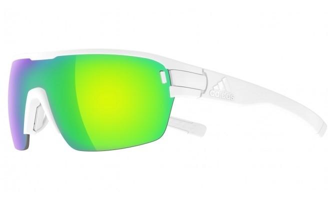 2019 Adidas Zonyk Aero Midcut BA Sunglasses White Matt Green