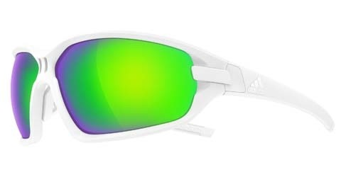 2019 Adidas Evil Eye Evo Basic Sunglasses White Matt Green