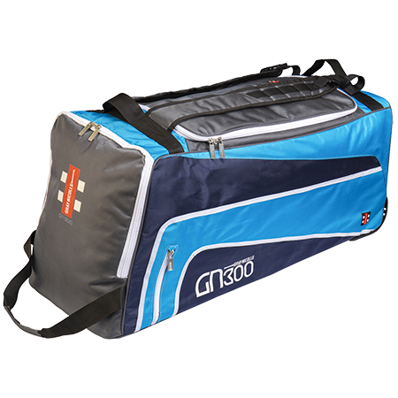 2019 Gray Nicolls GN 300 Wheelie Cricket Bag - Blue