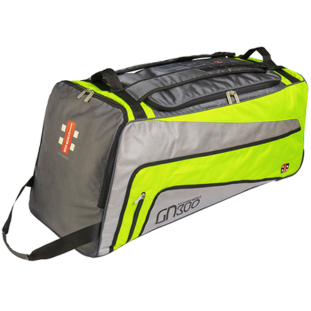 2019 Gray Nicolls GN 300 Wheelie Cricket Bag - Volt