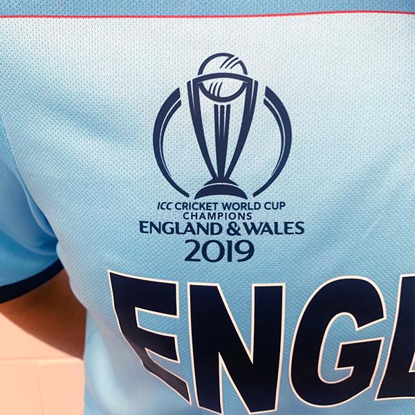 2019 New Balance England Cricket World Cup Winners ODI Replica Junior Cricket Shirt