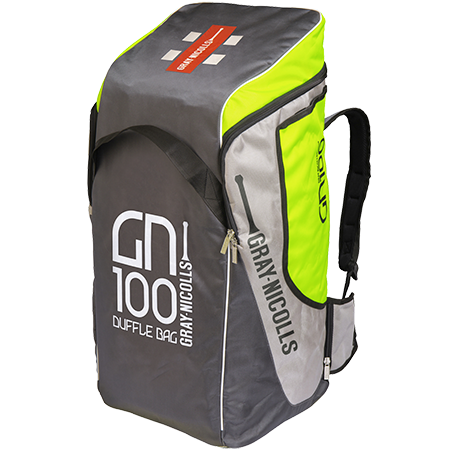 2019 Gray Nicolls GN 100 Duffle Cricket Bag - Volt