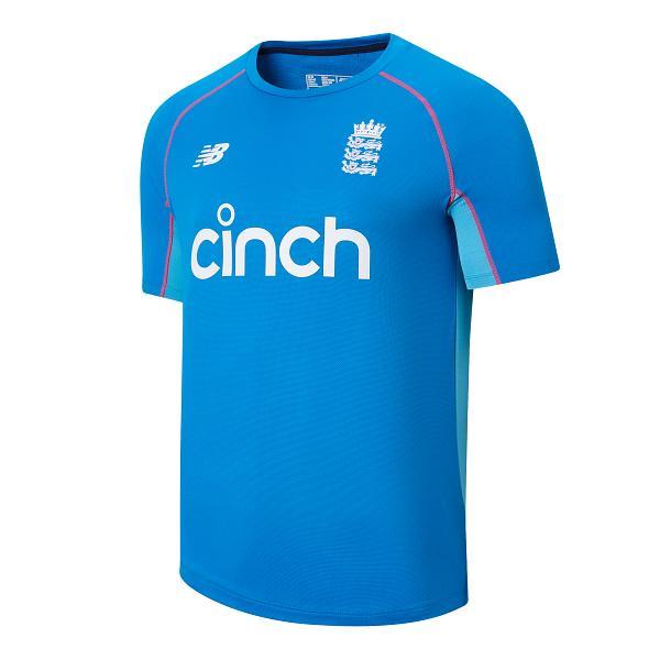 2021 New Balance England Replica Short Sleeve Training Shirt