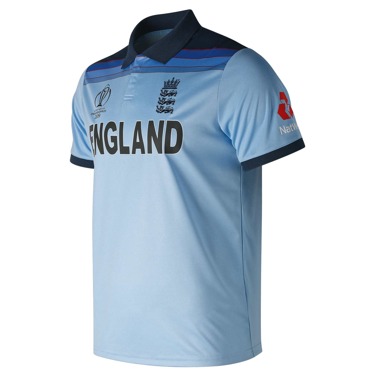 2019 New Balance England Cricket World Cup Winners ODI Replica Mens Cricket Shirt