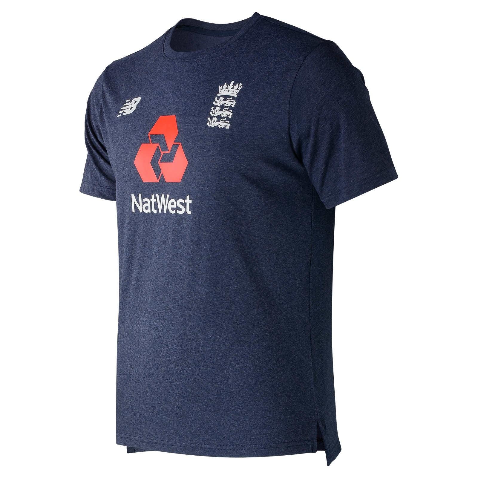 2019 New Balance England Heather T-Shirt - Galaxy