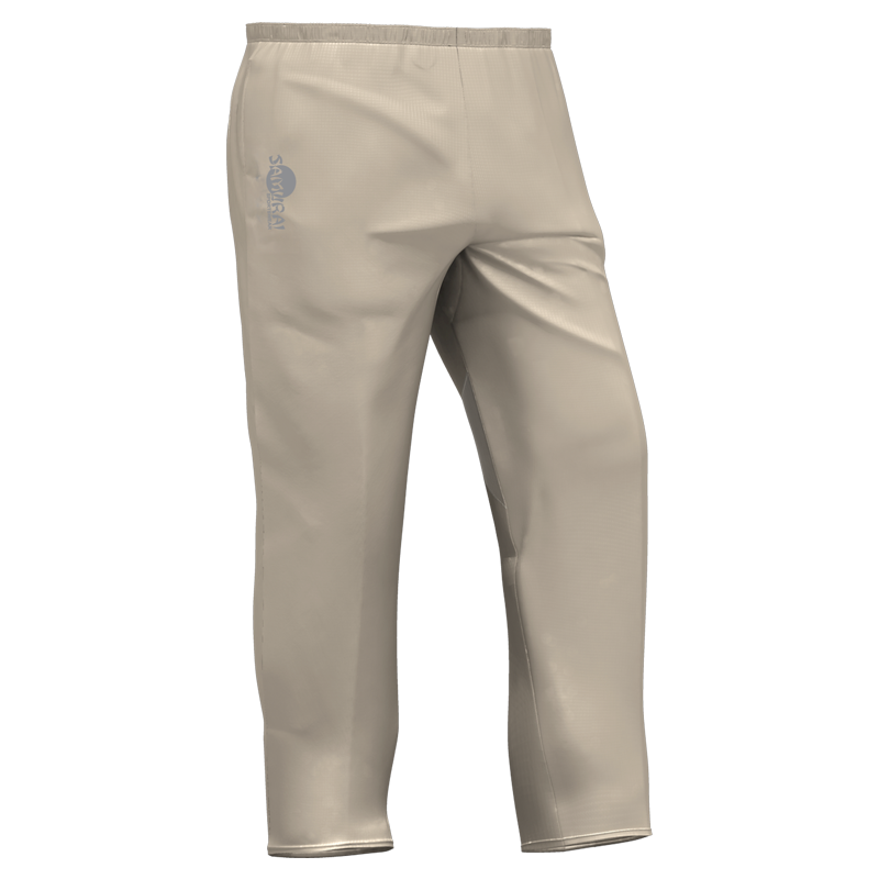 Samurai Cream Cricket Trousers Front