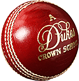 Dukes Crown School 'A' Cricket Ball