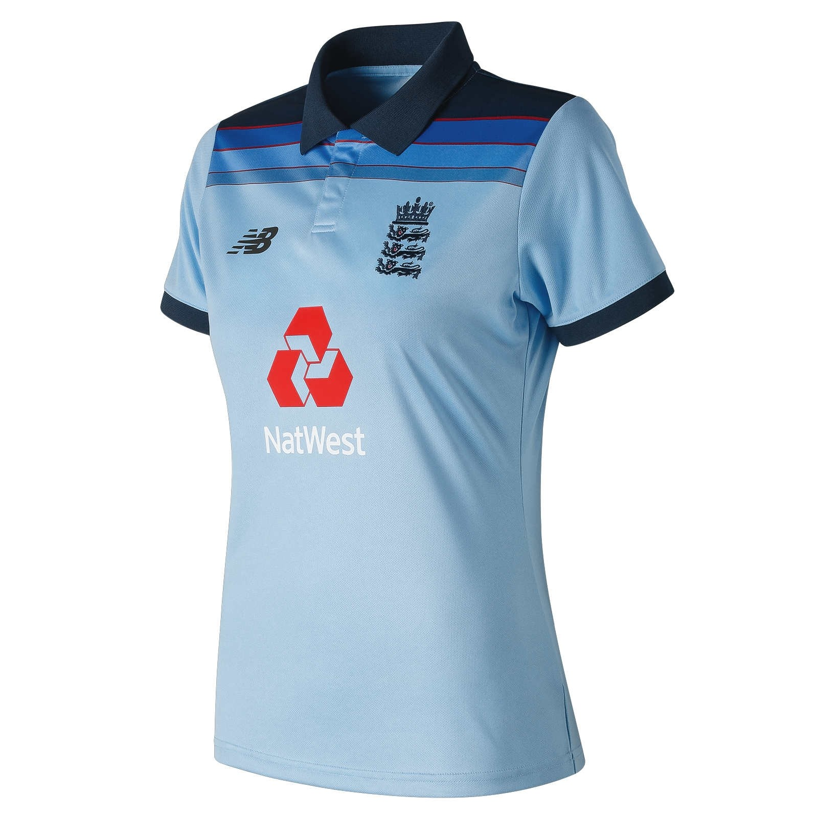 2019 New Balance England ODI Replica Womens Cricket Shirt