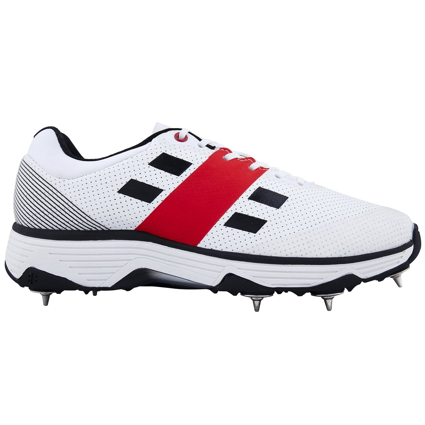 2021 Gray Nicolls Players Spike Cricket Shoes - Black