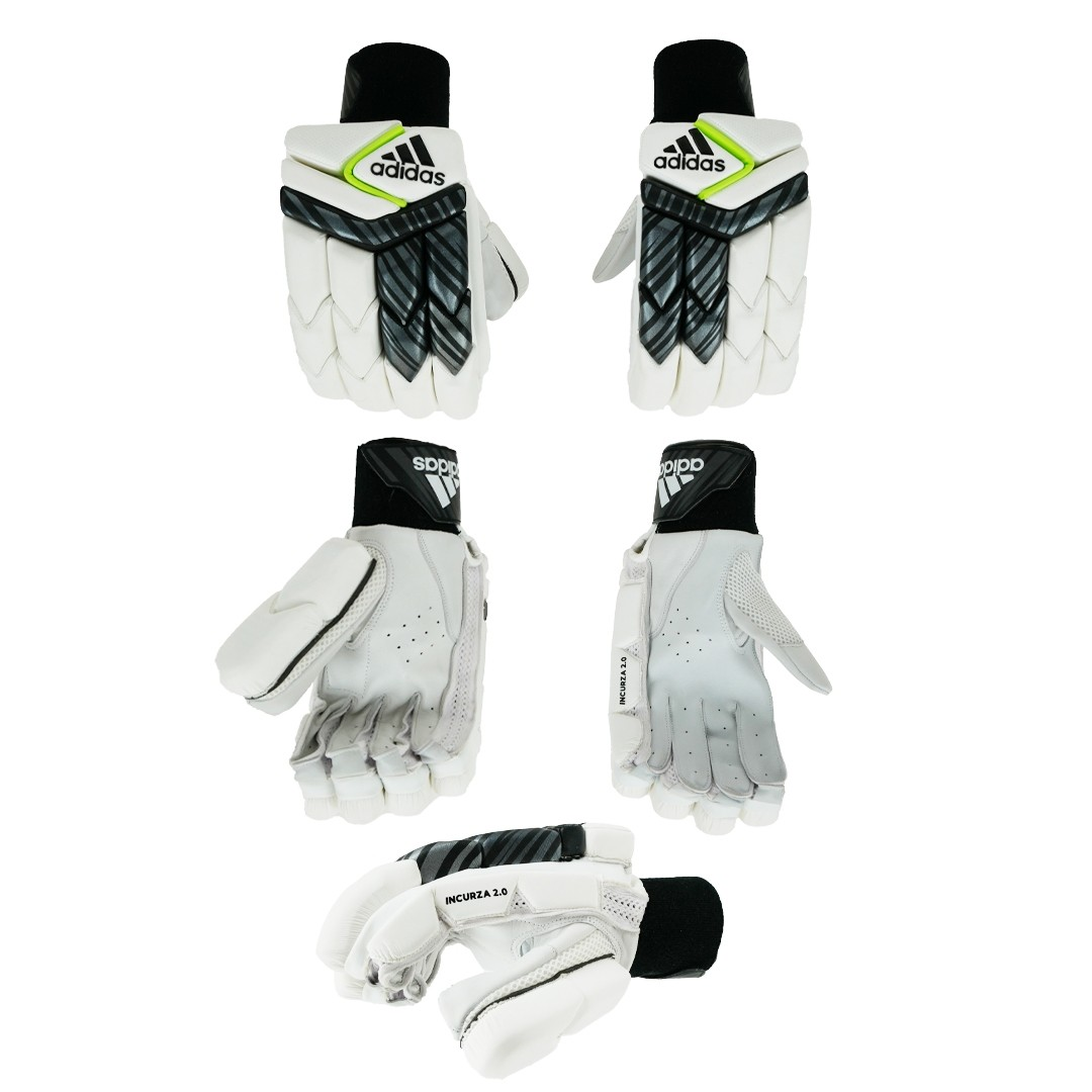 2021 Adidas Incurza 2.0 Acid Yellow Batting Gloves