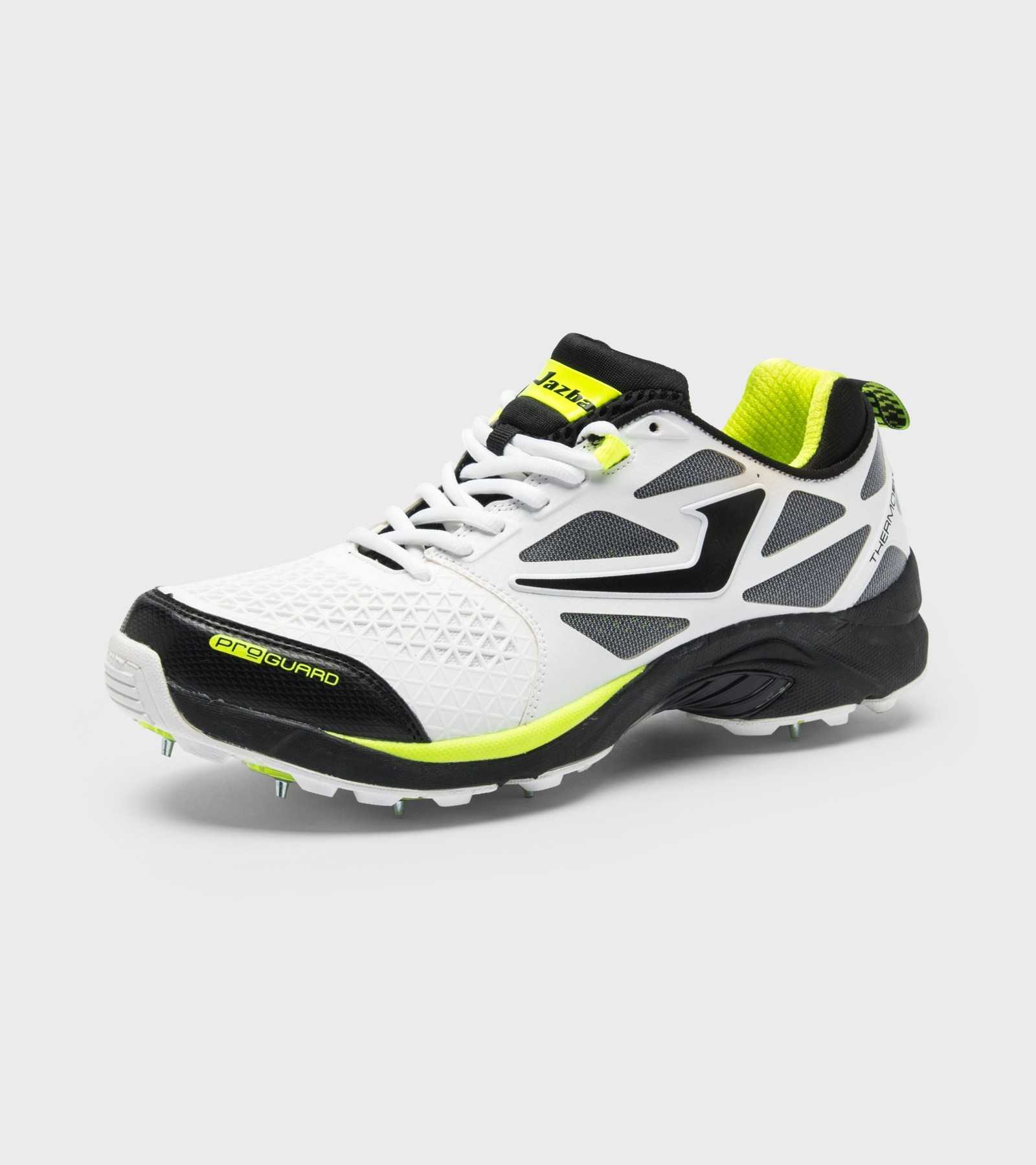 2019 Jazba Sky Drive 117 Cricket Shoes - Black/Lime