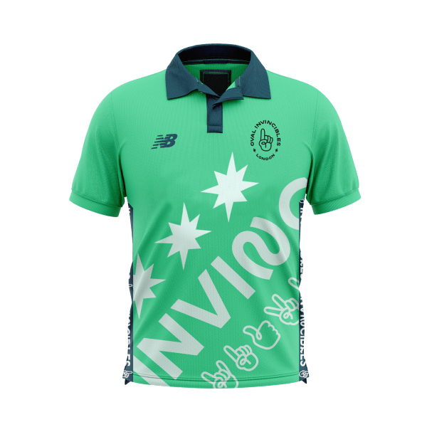 2020 New Balance Oval Invincibles Junior Playing Shirt