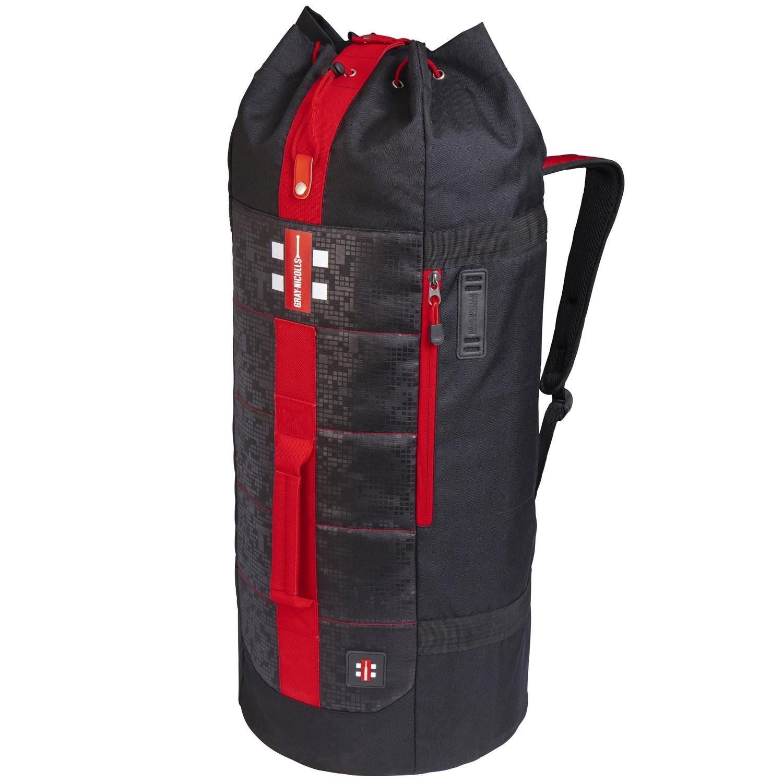 2021 Gray Nicolls Select Duffle Cricket Bag - Black/Red/White