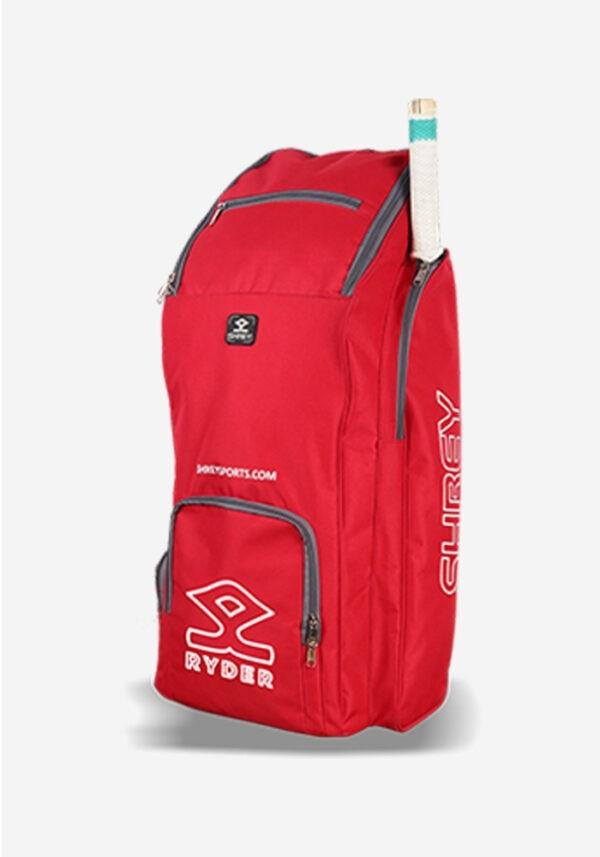 Shrey Ryder Duffle Cricket Bag - Red