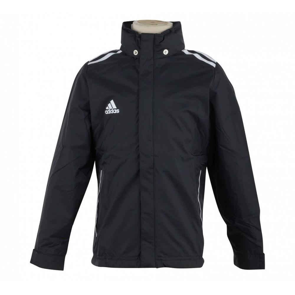 Adidas Junior Black Rain Jacket