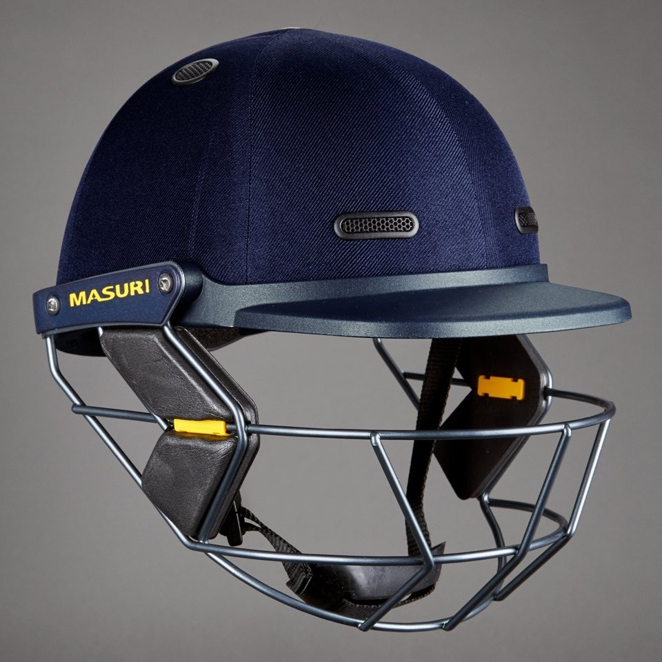 2018 Masuri Vision Series Test Junior Cricket Helmet
