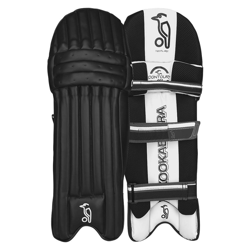 2021 Kookaburra T/20 Flare - Black Batting Pads
