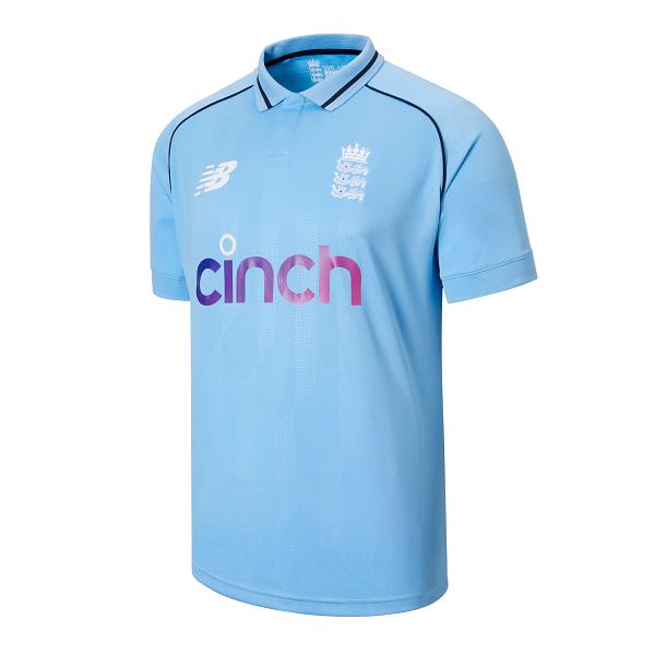 2021 New Balance England ODI Replica Mens Cricket Shirt