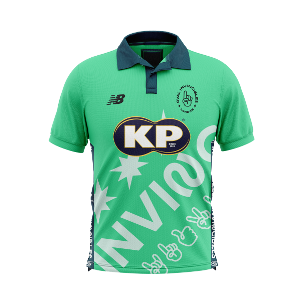 2021 New Balance Oval Invincibles Playing Shirt