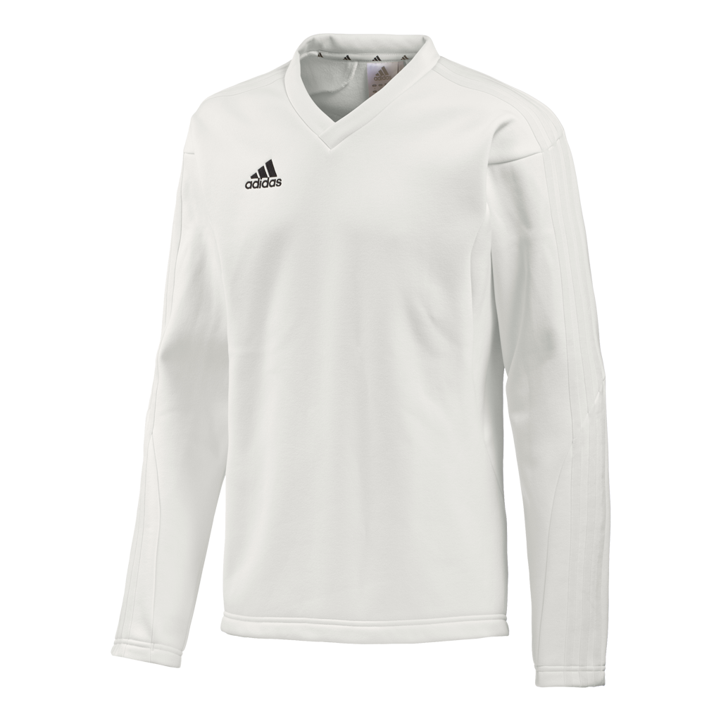 2018 Adidas Long Sleeve Cricket Playing Sweater